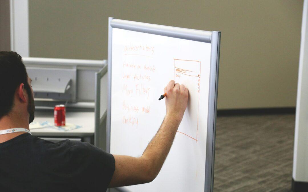 Whiteboard ugeplan – skab struktur i din hverdag